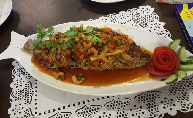 Fried Fish Cashew