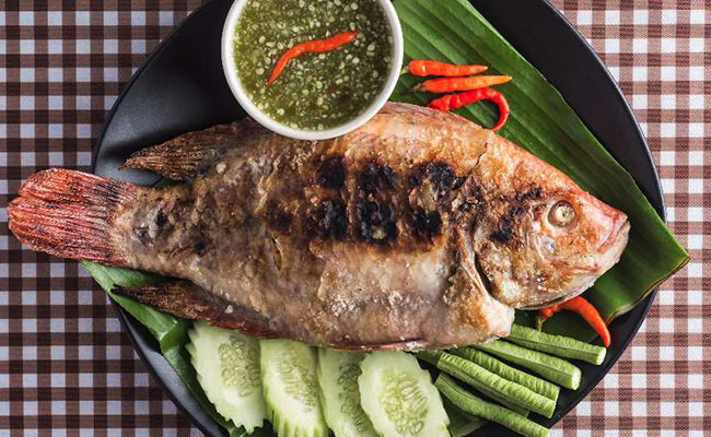 Grilled Thai Style Fish