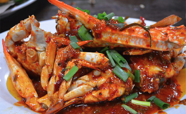 Crab Red Sauce