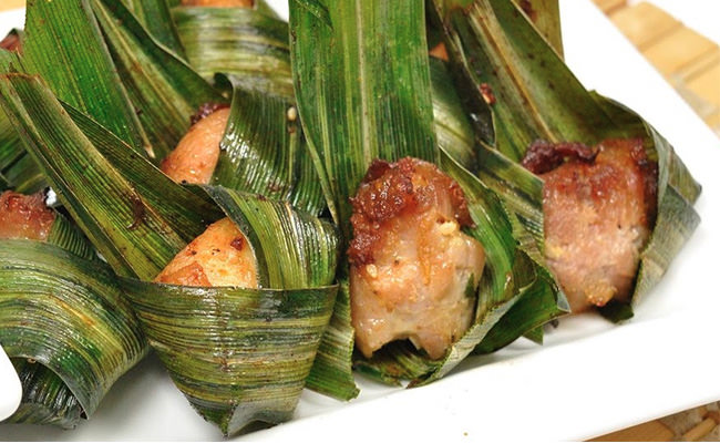 Chicken Pandan Leaves